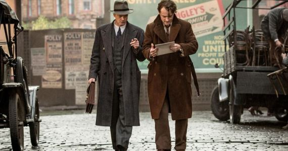 El editor de libros Thomas Wolfe Perkins Jude Law Colin Firth