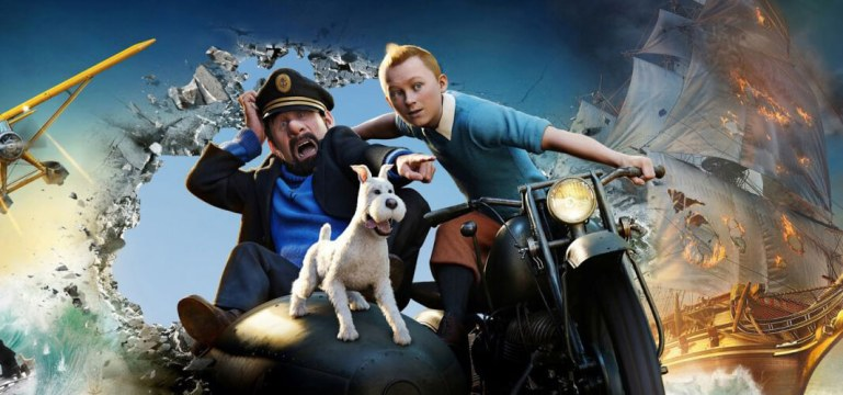Tintin el secreto del unicornio cinemanet uncharted videojuego aventura 1
