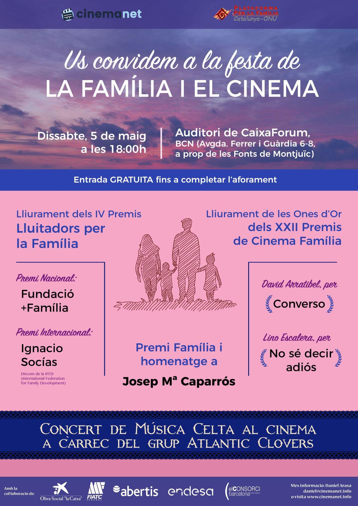 Cinemanet | Premios familia