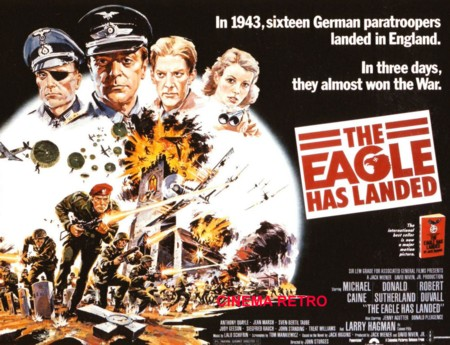 A poster for the film 'The Eagle Has Landed'