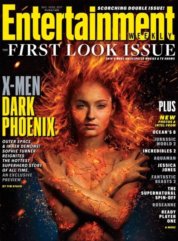Sophie Turner en X-Men: Dark Phoenix (2018)