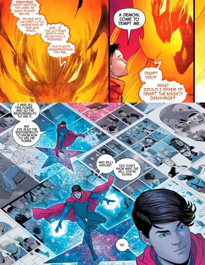 Marvel reveals the true power of the Scarlet Witch's son