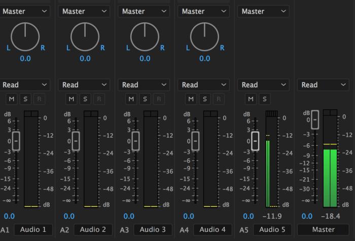 PP Audio mixer