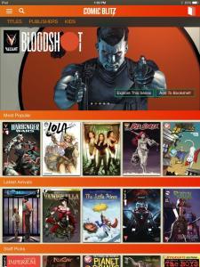 Digital Comics: Comic Blitz