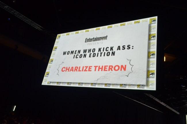 Comic-Con 2017 Hall H - Charlize Theron