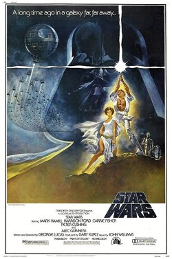 Episode IV - A New Hope (1977) Poster