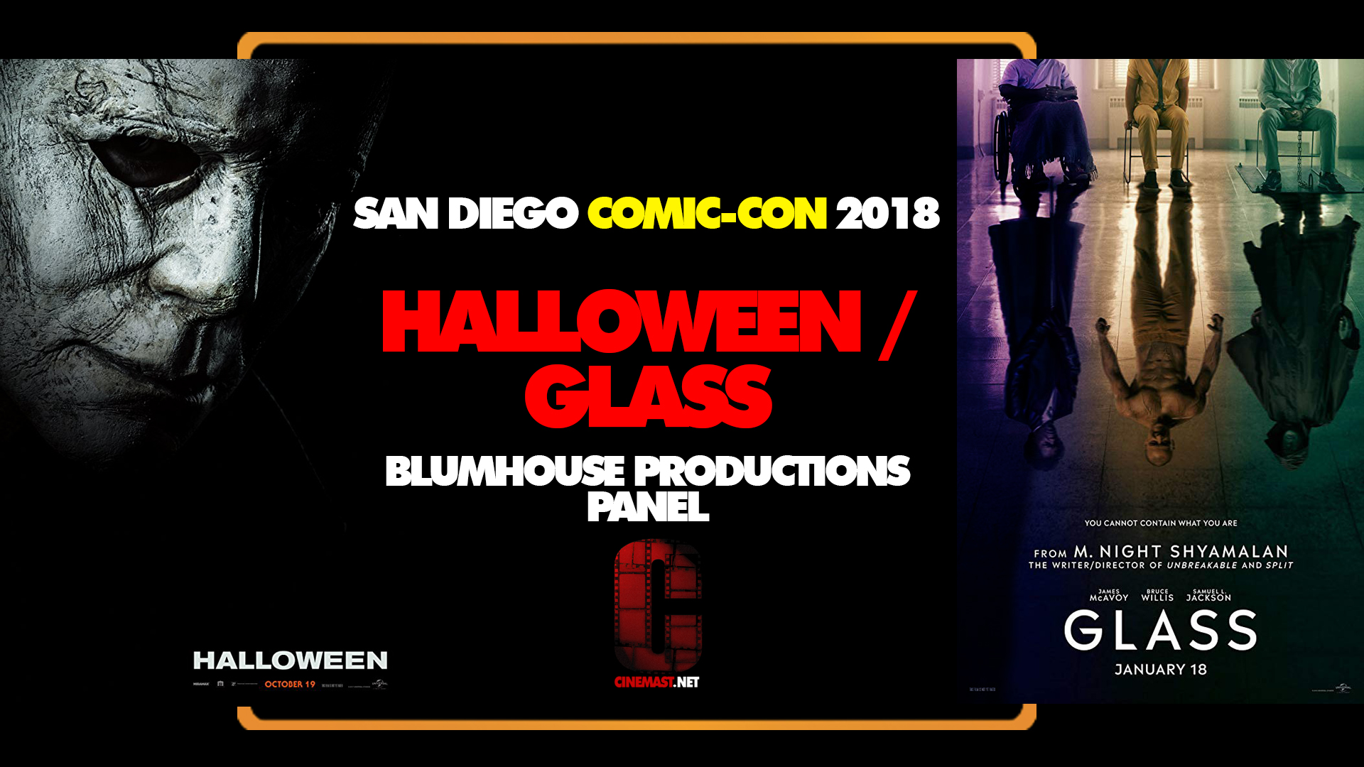 SDCC 2018 COVERAGE: GLASS AND HALLOWEEN (BLUMHOUSE/UNIVERSAL