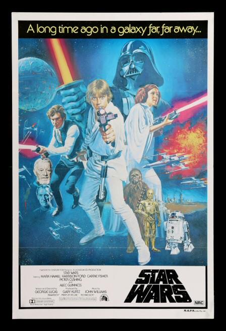 details about star wars cinemasterpieces original rare style c australian movie poster 1977