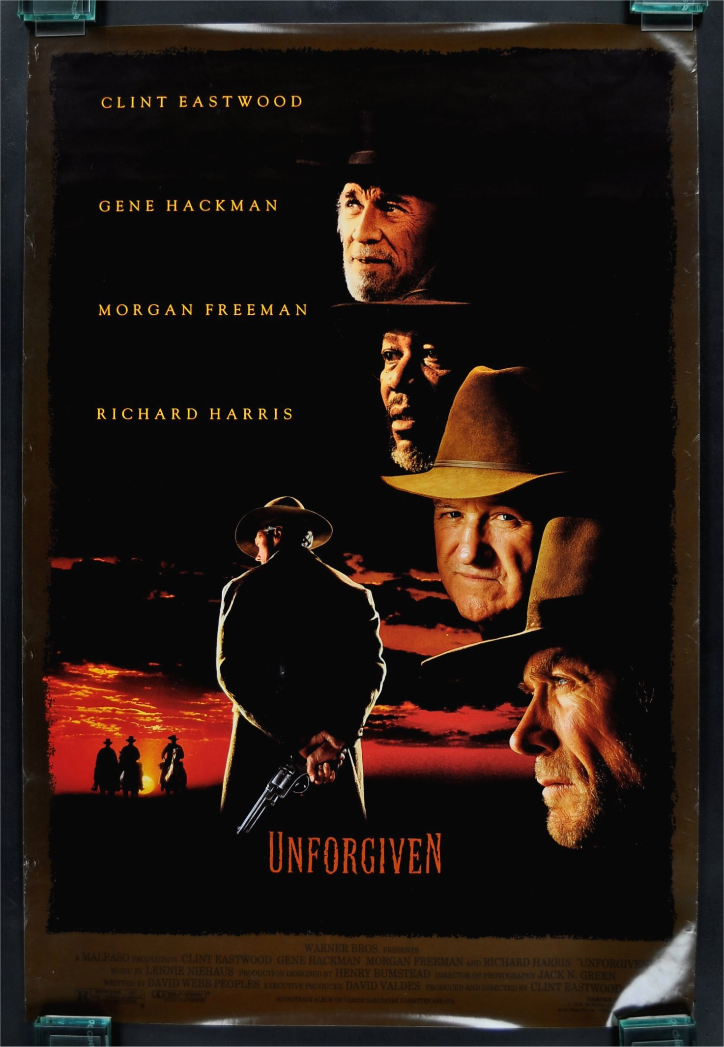 Image result for orignal movei poster for unforgiven