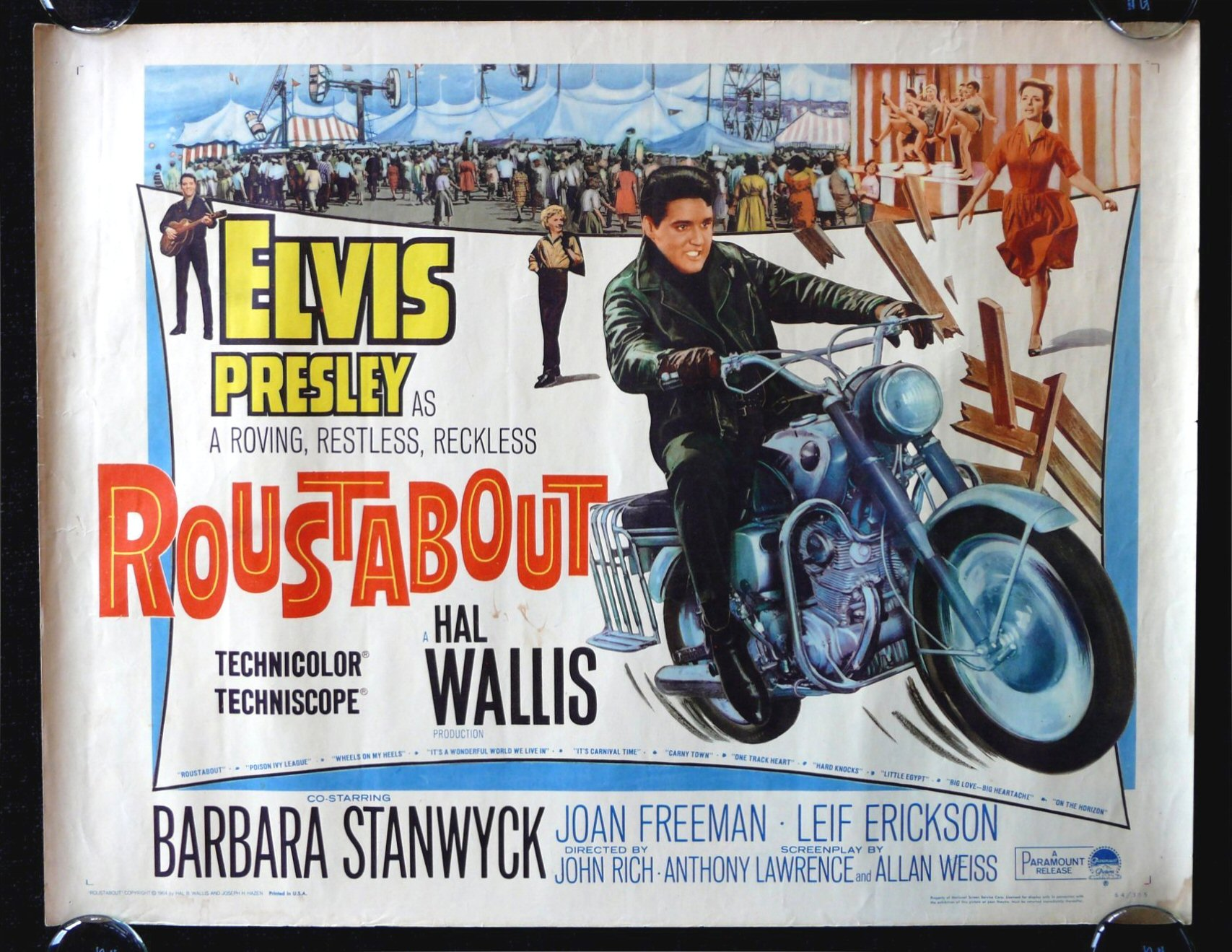Image result for roustabout elvis