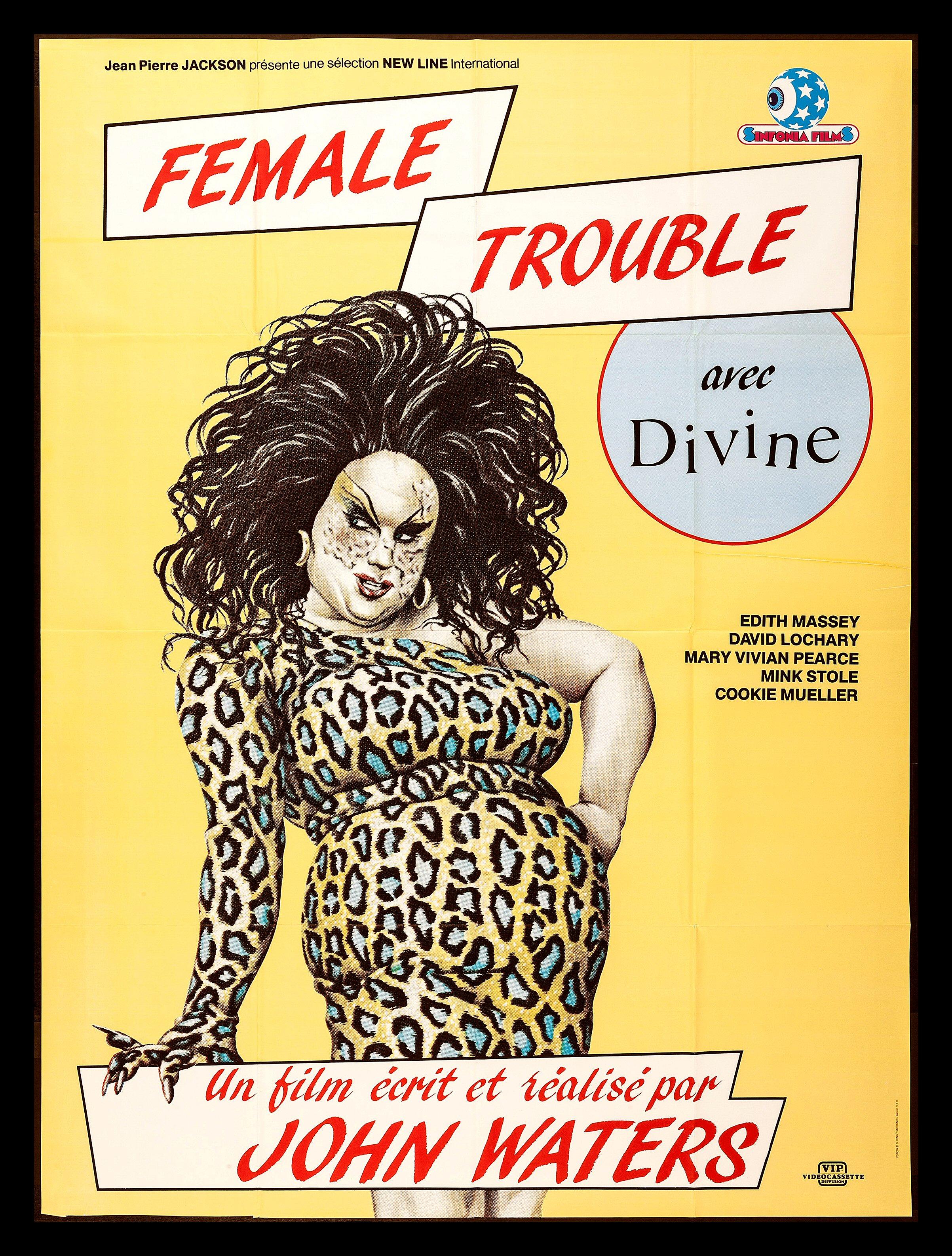 Divine Drag Female Queen Trouble