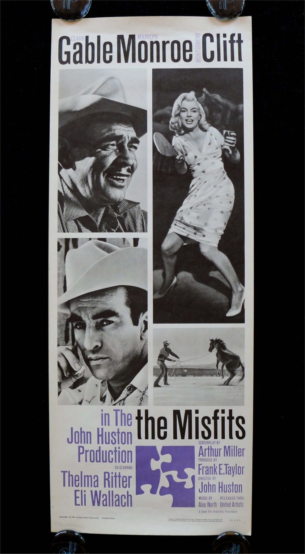 imagemaking celebrated at joslyn the misfits and magnum cinema consistent miller s ideology the misfits is replete references to the impermanence of things