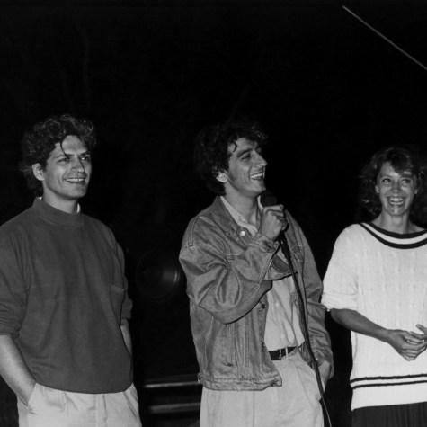 Fabrizio Bentivoglio, Sergio Rubini e Margherita Buy