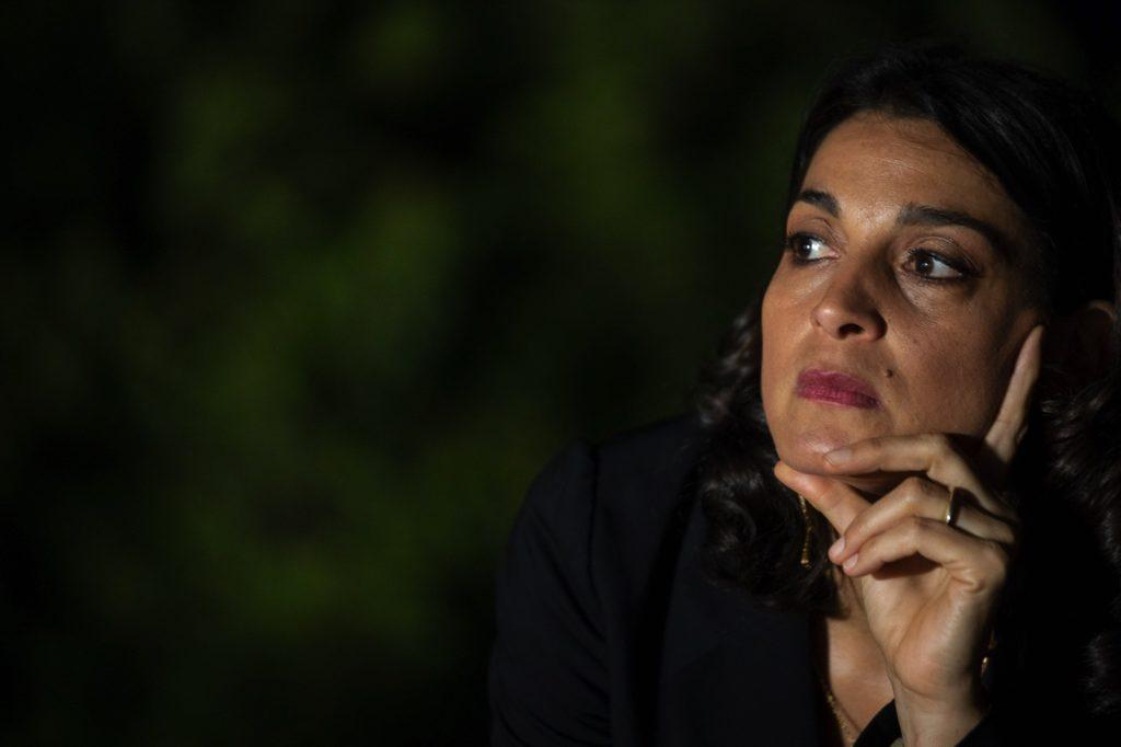 Cinematavolara 2019 seconda serata Donatella Finocchiaro primo piano