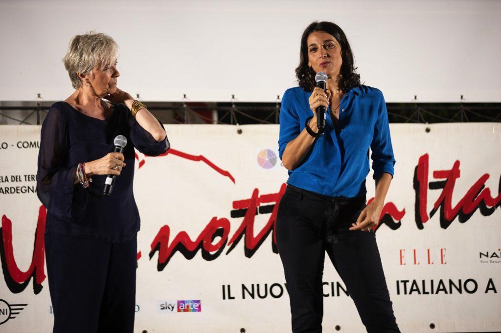 Cinematavolara 2019 seconda serata Piera Detassis e Donatella Finocchiaro 3