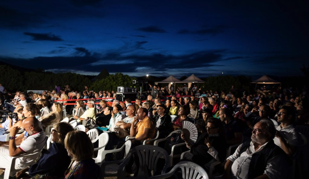 Cinematavolara 2019 seconda serata Pubblico cinema a San Teodoro