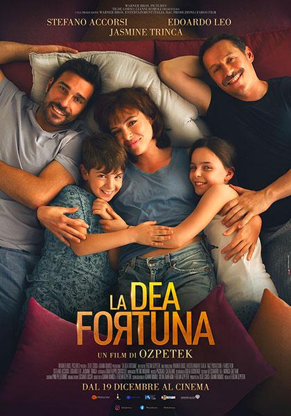 Locandina italiana La Dea Fortuna, film di Ferzan Ozpetek