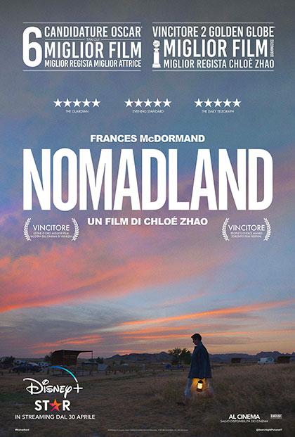 Nomadland locandina italiana