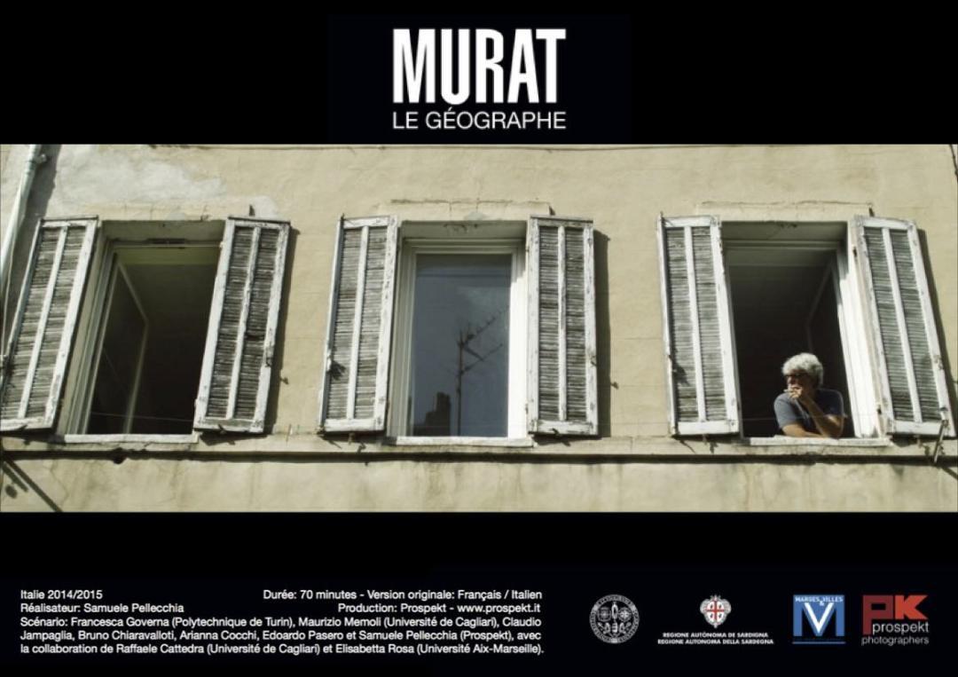 locandina del documentario Murat Le Geographe