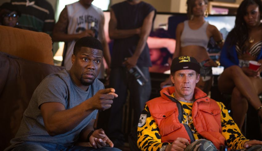 "Kevin Hart and Will Ferrell star in Warner Bros. Pictures' ""Get Hard"""