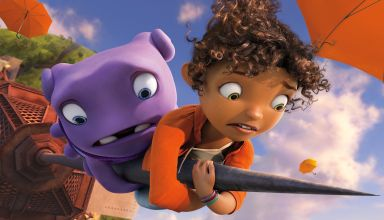 "Jim Parsons and Rihanna star in Dreamworks Animations' ""Home"""