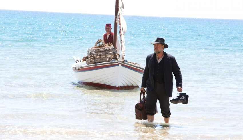 "Russell Crowe stars in Warner Bros. Pictures' ""The Water Diviner"""