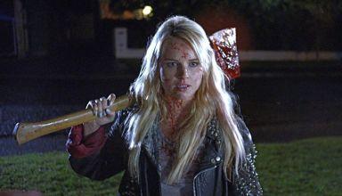 "Kimberley Crossman stars in ""Deathgasm"""