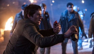 "Dylan O'Brien stars in 20th Century Fox's ""Maze Runner: The Scorch Trials"""