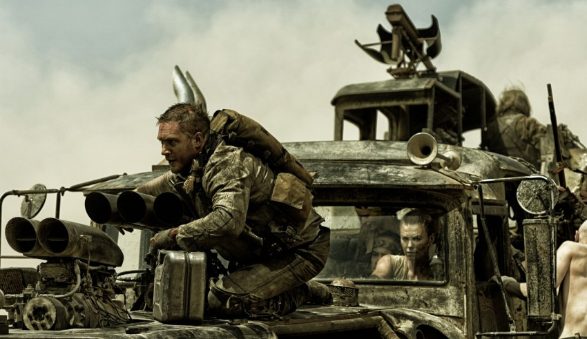 """Tom Hardy and Charlize Theron star in Warner Bros. Pictures' """"Mad Max: Fury Road"""""""