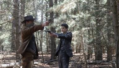 "Michael Fassbender and Kodi Smit-McPhee star in A24's ""Slow West"""