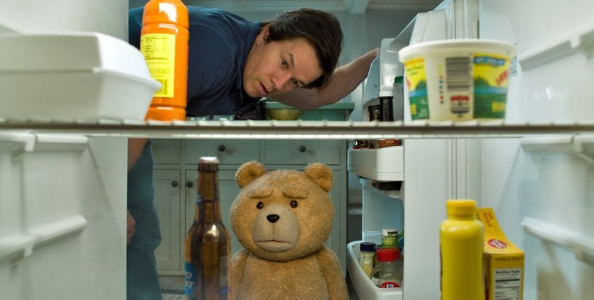 "Mark Wahlberg and Seth MacFarlane star in Universal Pictures' ""Ted 2"""
