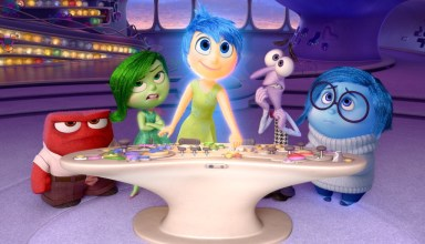 "(L-r) Lewis Black, Mindy Kaling, Amy Poehler, Bill Hader and Phyllis Smith star in Walt Disney's ""Inside Out"""