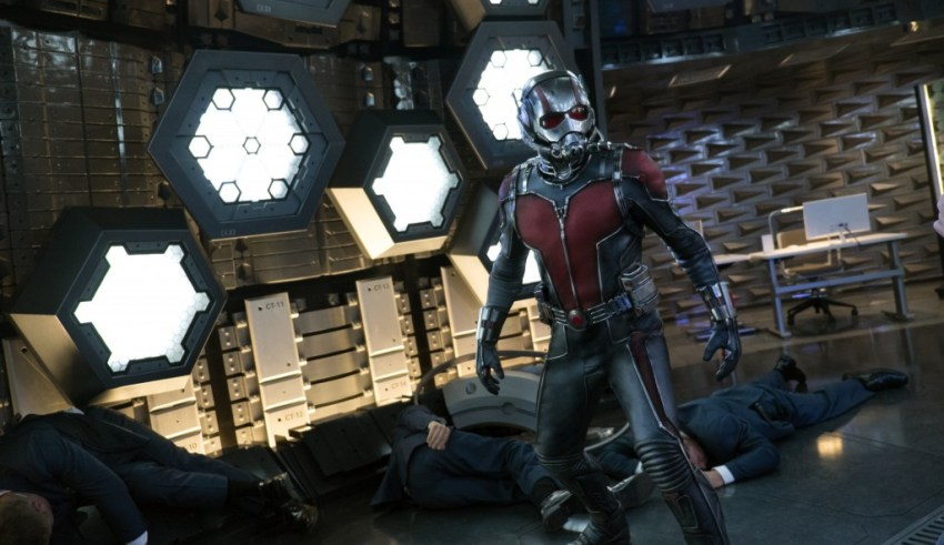"Paul Rudd stars in Marvel's ""Ant-Man"""