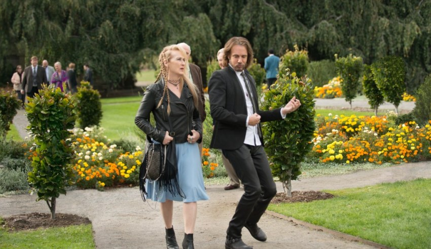 "Meryl Streep and Rick Springfield star in Sony Pictures' ""Ricki and The Flash"""