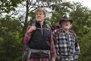 Robert Redford and Nick Nolte star in Broad Green Pictures' A WALK IN THE WOODS