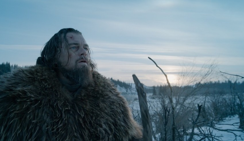 Leonardo DiCaprio stars in 20th Century Fox's THE REVENANT