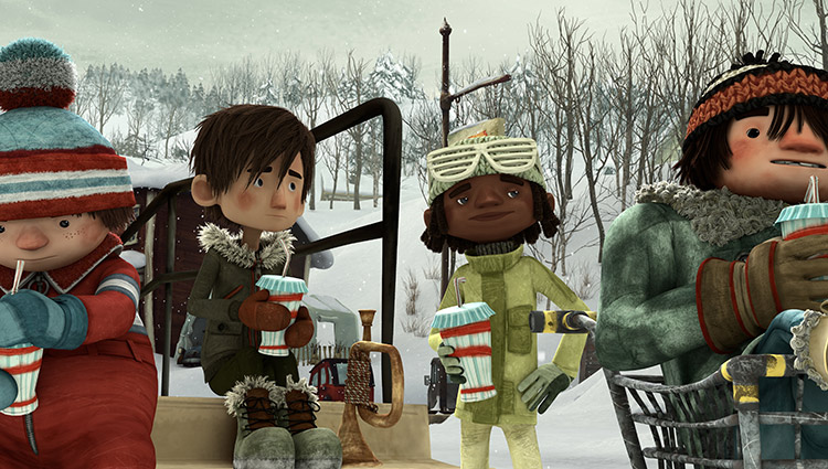 Image from Shout! Factory's SNOWTIME!