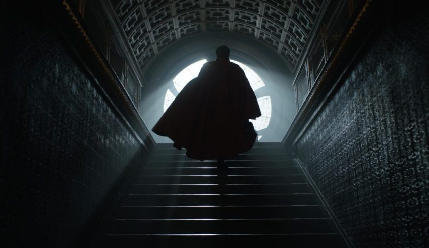 Benedict Cumberbatch stars in Marvel's DOCTOR STRANGE