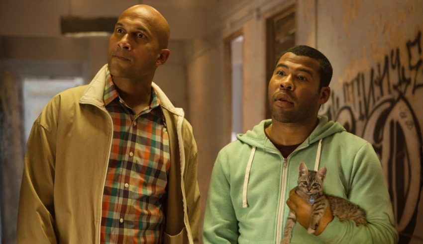 Keegan-Michael Key and Jordan Peele star in Warner Bros. Pictures' KEANU