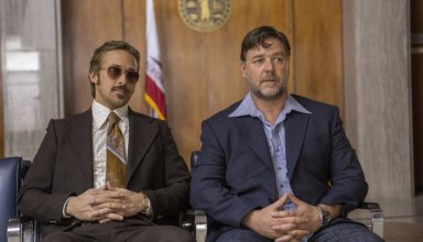 Ryan Gosling and Russell Crowe star in Warner Bros. Pictures' THE NICE GUYS