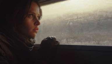 Felicity Jones stars in LucasFilms' ROGUE ONE: A STAR WARS STORY