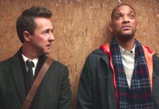 Edward Norton and Will Smith star in WARNER Bros. Pictures' COLLATERAL BEAUTY