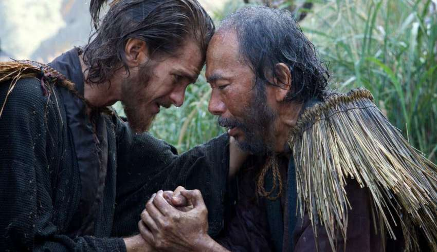 Andrew Garfield and Shinya Tsukamoto star in Paramount Pictures' SILENCE