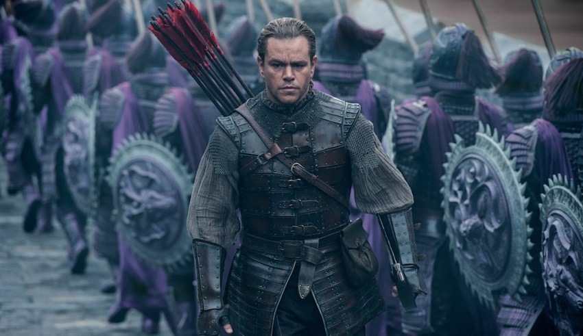 Matt Damon stars in Universal's THE GREAT WALL