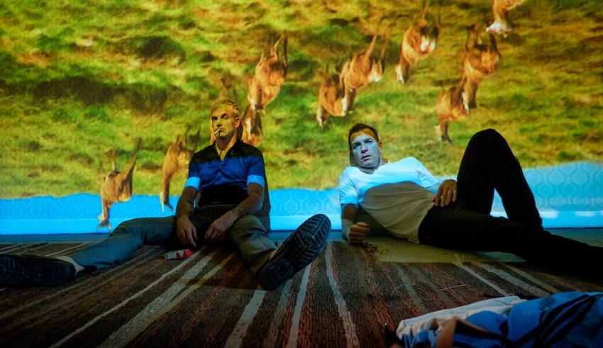 Jonny Lee Miller and Ewan McGregor star in Tristar Pictures' T2: TRAINSPOTTING