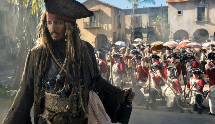 Johnny Depp stars in Disney's PIRATES OF THE CARIBBEAN: DEAD MEN TELL NO TALES