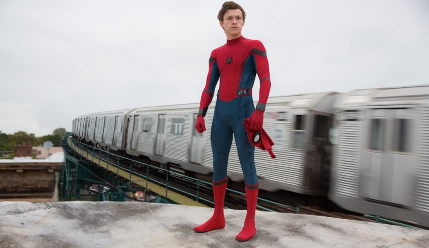 Tom Holland stars in Sony's SPIDER-MAN: HOMECOMING