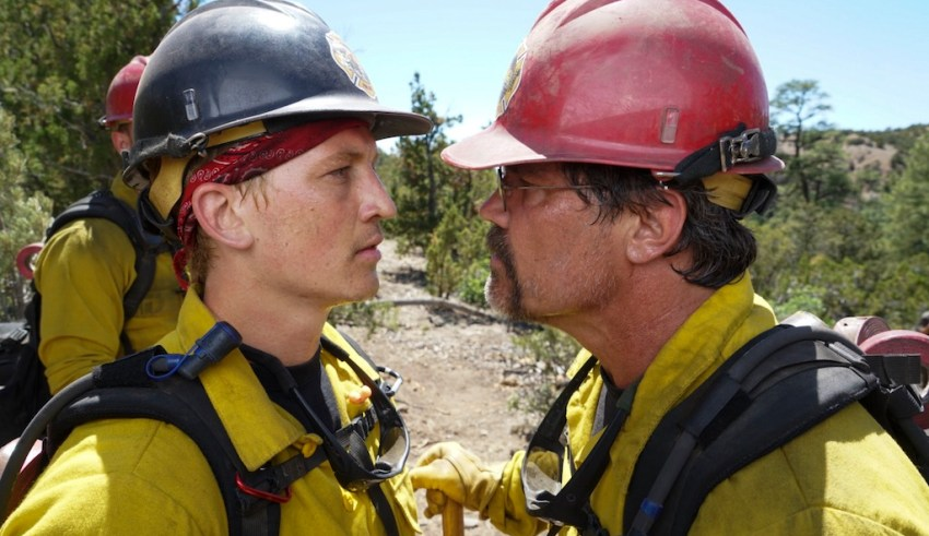 Miles Teller and Josh Brolin star in Columbia Pictures' ONLY THE BRAVE