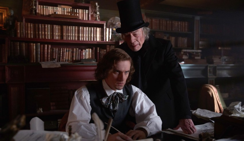 Dan Stevens and Christopher Plummer star in Bleecker Street's THE MAN WHO INVENTED CHRISTMAS