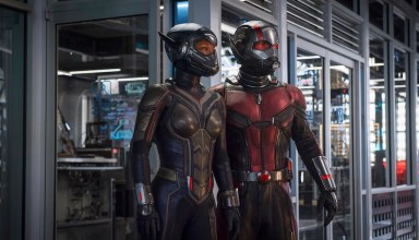 Evangeline Lilly and Paul Rudd star in Marvel Studios' ANT-MAN AND THE WASP